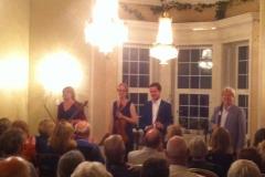 Glanleam House Opening Concert Darragh Morgan, William Dowdall, Nancy Johnson, Miriam Roycrof