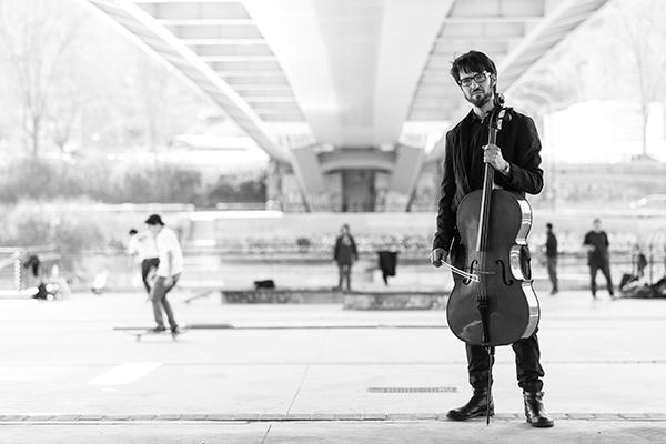 Francesco Dillon Cello at theChamber Music on Valentia Feastival