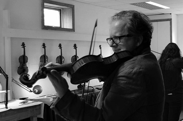 Keith-Pascoe playing at Chamber Music on Valentia Feastival