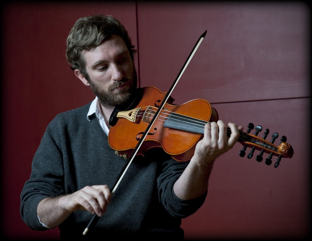 Caoimhín Ó Raghallaigh Playing at Chamber Music on Valentia