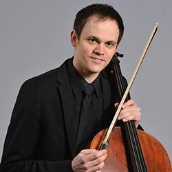 David Edmonds - cello at the Valentia Chamber Music Festival