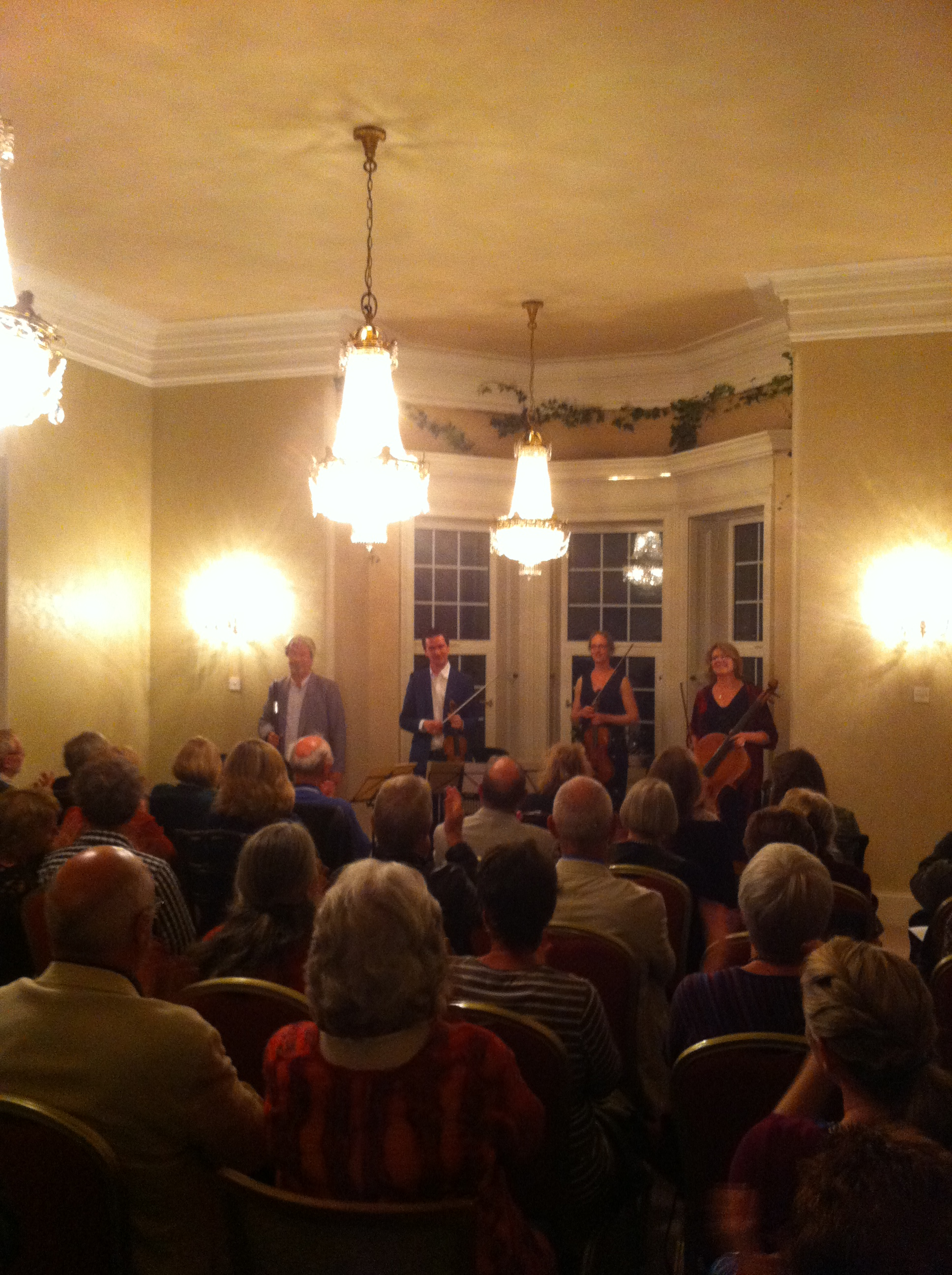 Glanleam House Opening Concert Darragh Morgan, William Dowdall, Nancy Johnson, Miriam Roycroft