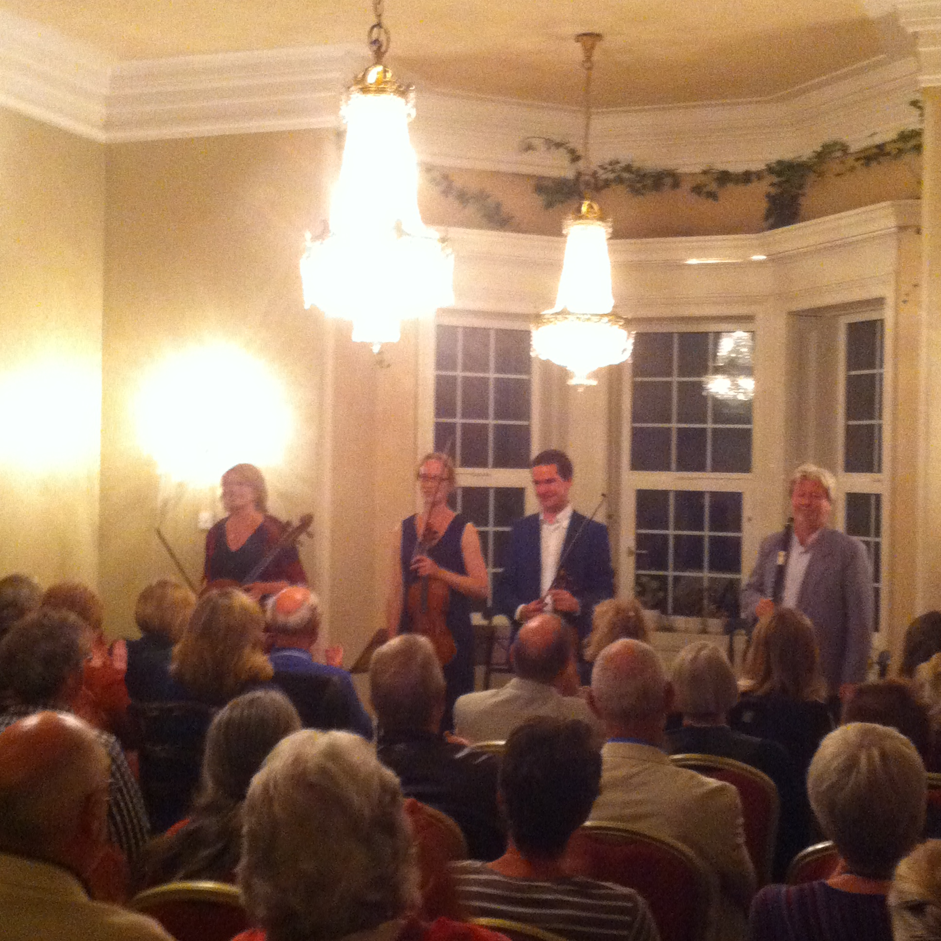 Glanleam House Opening Concert Darragh Morgan, William Dowdall, Nancy Johnson, Miriam Roycrof