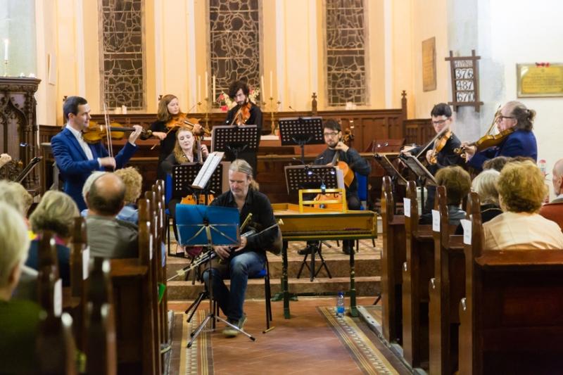 Cillian Vallely with Fishamble Sinfonia, Church of St. John the Baptist
