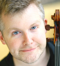 Mike Kelly Viola at the Valentia Chamber Music Festival