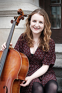 Yseult Cooper Stockdale Cello. Playing at Valentia Music Chamber Festival 2019