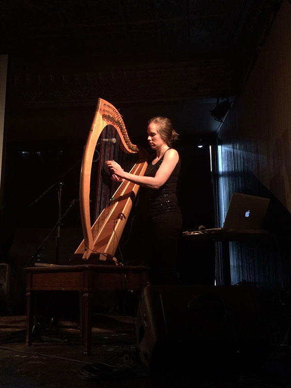 Úna Monaghan playing at Valentia Chamber Music Festival